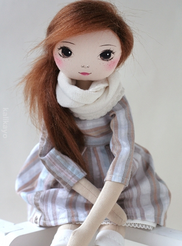Marcelle – the romia doll